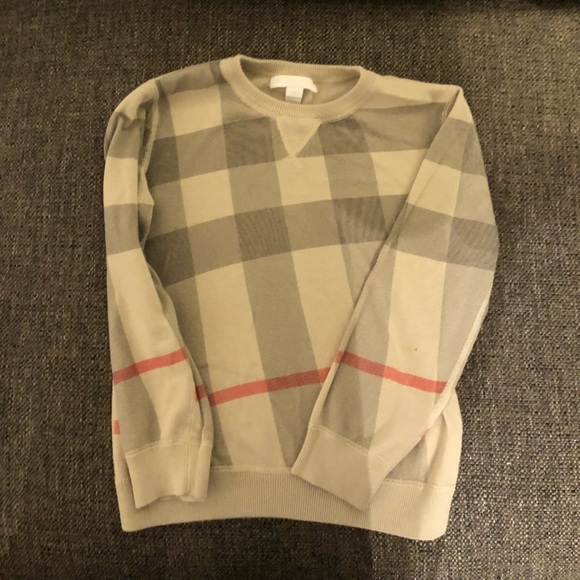 d32142bb2a597 Burberry Other - Boys Burberry Sweater